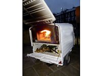 Piaggio ape ready business with Wood-fired Oven and many accessories.