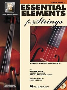 Hal Leonard Essential Elements 2000 for Strings Violin Book 1 with CD-ROM