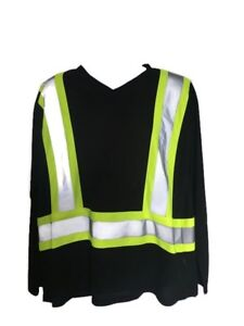 Men's FORCEFIELD CSA Visibility Long Sleeve NEW W/ TAGS - Large