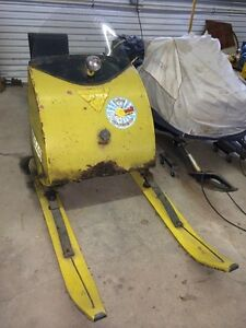 Looking. For autobogan snotraveler tin cab. Ski doo or parts ect Regina Regina Area image 2