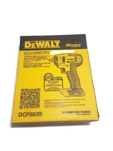 DEWALT DCF883B 20-Volt MAX Lithium Ion 3/8-Inch Impact Wrenc