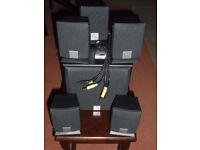 Creative Inspire 5.1 5300 surround sound PC speakers.