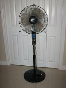"Nova 16"" oscillating pedestal fan"