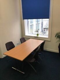 Cheap Meeting Room Glasgow - Available to be booked by the day £45 for full day