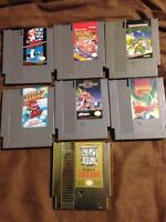 Selling a NES with 7 Games| Mario Games| Zelda Game!