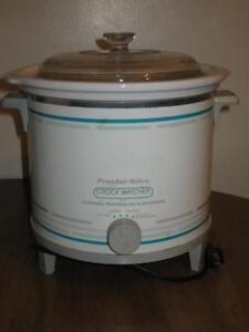 slow cooker and George Foreman Grill