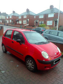 DAEWOO MATIZ RARE LOW MILEAGE 40K ( ANY OLD CAR PX WELCOME ) F.S.H