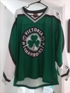 Victoria Shamrocks Replica Warrior Jersey - adult size small
