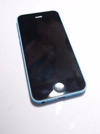 Apple iPhone 5C - Blue on '3'