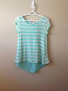 Womens knit top with bow