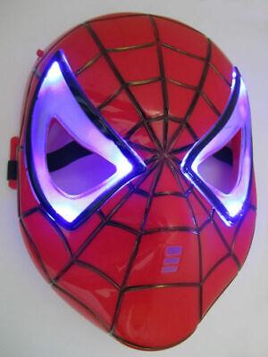 Spiderman Maske Leuchtend LED Halloween, Karneval, Party, Kinder - Led-halloween