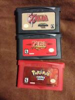 Selling a GBA SP AGS-101 plus Pokemon and Zelda Games!
