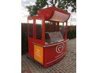 Ice cream freezer- cart