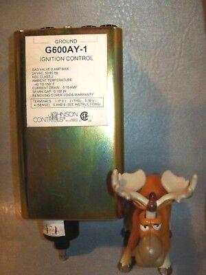 G600ay-1 Johnson Controls Ignition Control 24 Vac