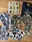 Star Wars - Collection of non - Topps trading cards