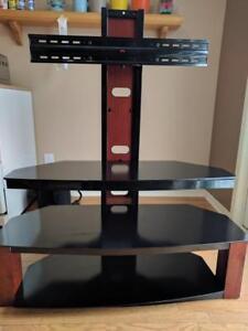 "Z-Line Jaguar TV Stand - Great shape! Fits 55"""