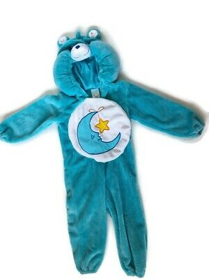 Care Bears Bedtime Bear Plush Costume Dress-Up 3t-4t Boys Girls Outfit ()