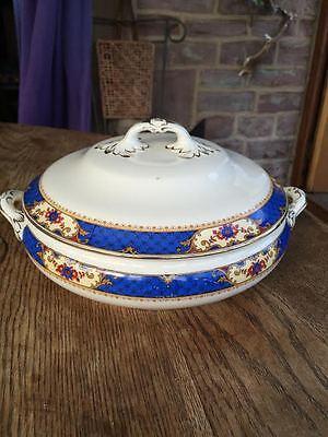 Vintage serving dish tureen Losol ware Keeling & co Burslem England
