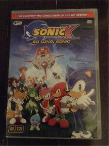 Sonic X - So Long, Sonic (season 6) - anime Sonic the Hedgehog