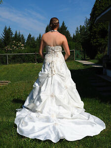 Size 10-14 corset wedding dress