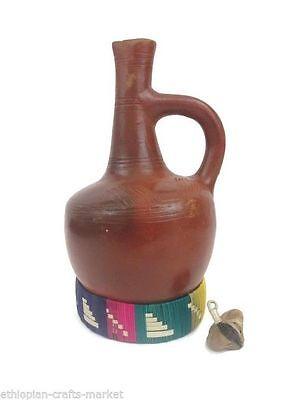 Ethiopian Clay Coffee Pot Jebena