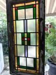 Stained glass window (1) - Art Deco - Glas-in-lood