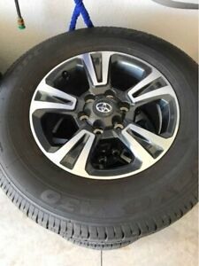 3rd Gen Tacoma TRD Sport rims and wheels