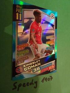 Topps Champions League 2016 17 limited Edition Pro11 Coman München Match Attax