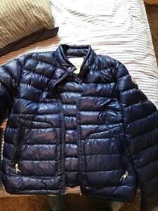 Moncler Blue Down Lightweight Jacket youth XL/men's XS