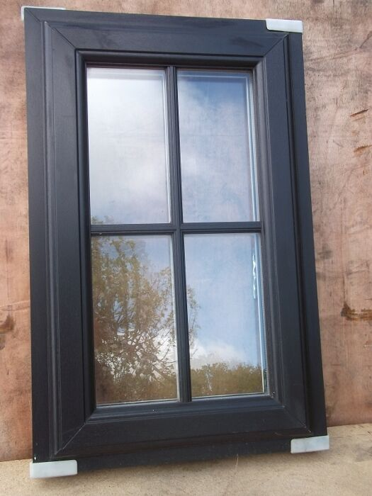 Upvc double glazed cottage window 500mm wide x 800mm high for Upvc french doors near me