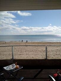 Fully equipped beach hut can be hired as office space /desk space during the day