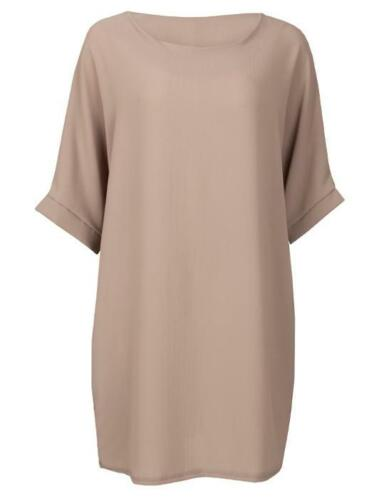 Comfy Dress Taupe, jurk casual taupe|bruin