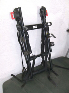 Used for one trip brand new ccm 3 bike universal bike rack