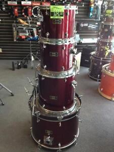 Mapex Venus Series 12, 13, 16ft, 22bd, 4pcs rouge vin - usagée/used