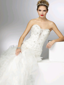 Madison Collection Wedding Dress size 6