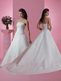 Beautiful 'Forever Yours' wedding dress size 14
