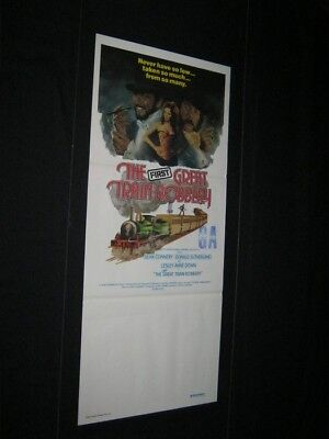 Original 1979 GREAT TRAIN ROBBERY Sean Connery Australian South Pacific Style