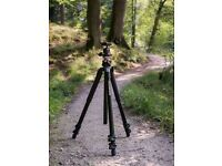 Sturdy and Powerful Manfrotto Tripod (for heavy camcorders and photo cameras).