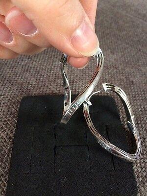Jette JOOP Waterfall Klappcreole 925 Silber Silver wunderschön XXL groß massiv online kaufen