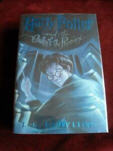 Harry potter order of the phoenix book first edition