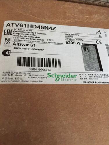 1pc New  Schneider Atv61hd45n4z
