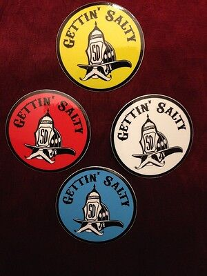 Gettin' Salty Firefighter Pack - Firefighter Car Decal and Helmet Stickers