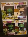 Funko - Scooby Doo - Poupée Scooby-doo Lot 4 Pops Edition Li