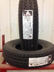 """REDUCED - 2 NEW Hercules 15"""" Tires (ST205/75R15)"""