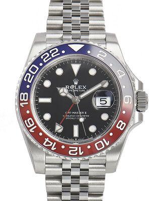 Rolex GMT-Master II 126710 BLRO Pepsi Bezel Jubilee Bracelet 40mm Mens Watch