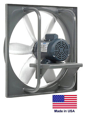 Exhaust Fan Industrial - Direct Drive - 20 - 1 Hp - 230460v - 6900 Cfm