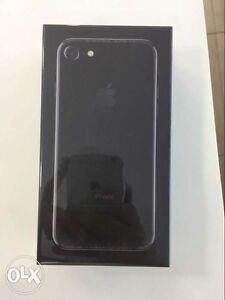 Brand new Jet Black  Iphone with 128 GB in sealed pack
