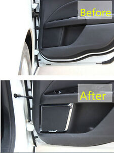 chrome door speaker decoration cover trim 4pcs for ford. Black Bedroom Furniture Sets. Home Design Ideas