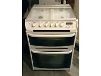 Cannon Gas Cooker (60cm) grill & double ovens good condition