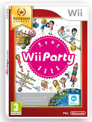 Wii Party Solus Selects Nintendo WII 2135349 NINTENDO